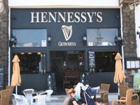 Hennessy's Bar Costa Teguise, Lanzarote