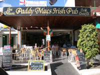 Paddy Macs Irish bar Playa Blanca Pubs, Lanzarote